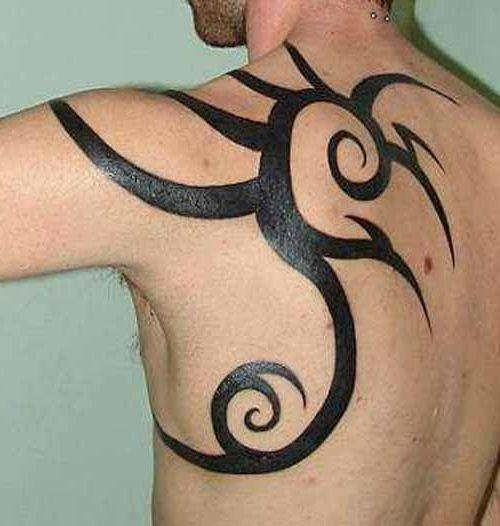 Tribal Tatuaż Na Plecach Na Tatuaże Zszywkapl