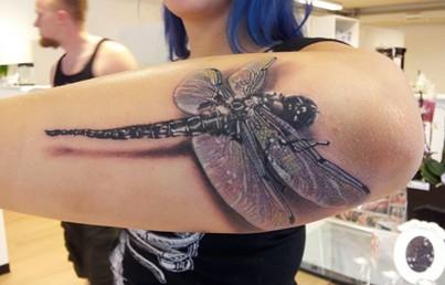 Tatuaż Z Ważką Na Wzory Tatuaży Zszywkapl