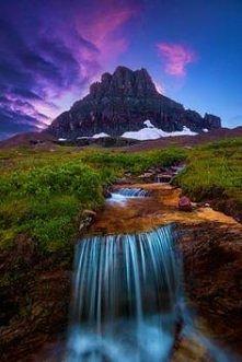 Polo Pixel: Glacier National Park, Montana United States