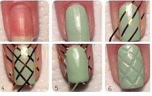 Manicure z odbiciem na paznokciu! <3