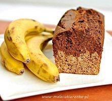 Ciasto z bananami dwukoloro...