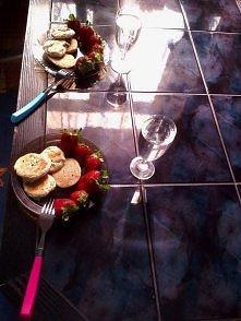 śniadanko z kochaną Klaudynką <333