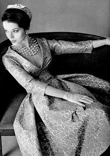 1957 dress by Jean Patou