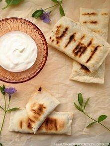 Gozleme - turecki chlebek ze szpinakiem i serem feta. MNIAM!