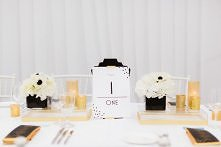 Stoły weselne stylizowane n...