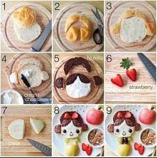 Takie śniadanko każdego ucieszy ;)