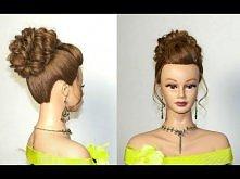 Bardzo elegancka fryzura :) Bardzo i to bardzo mi się podoba. Może jak będę miała czas to ją poćwiczę. A jak wam się podoba? :)