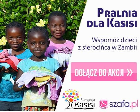 """Kochani, wraz z Fundacją Kasisi Szymona Hołowni, wystartowaliśmy z aukcją charytatywną """"Pralnia dla Kasisi"""". Dołączajcie do akcji - możecie wystawić swoje rzeczy do licytacji, możecie licytować, aprzede wszystkim pomóc w rozgłaszaniu o Akcji. Zobaczcie, kto ze znanych osób, dołączył do Akcji >>"""