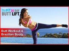 """Butt Workout Cardio 4: Brazilian Booty   ĆWICZENIA NA SEXY TYŁECZEK ! :)  Moja przygoda z """"30 DAY BUTT LIFT"""" ^^ DZIEŃ 12 !!!  PS. te ćwiczenia wykonujemy w dniu: 12, 2..."""