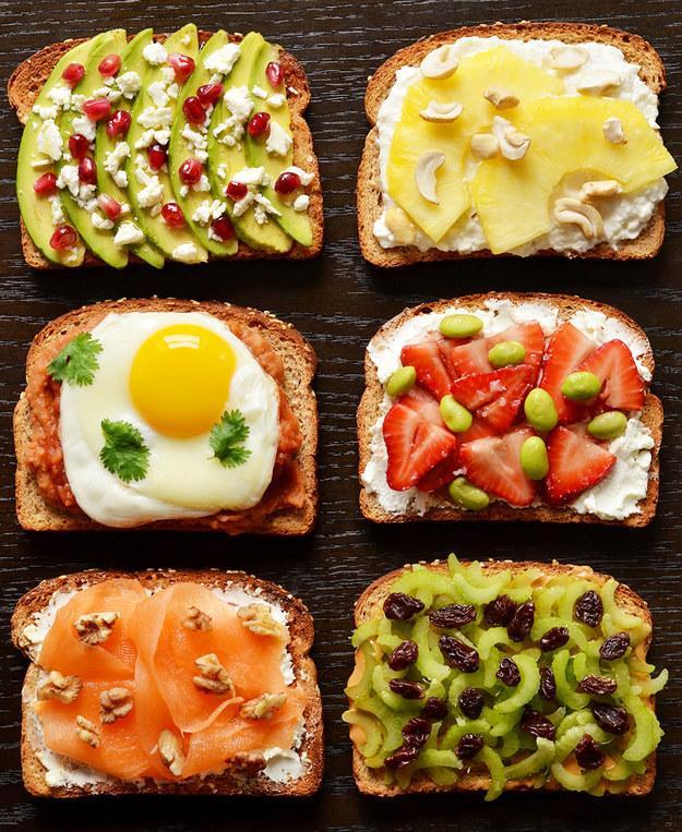 Tosty na śniadanie