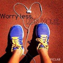 kocham biegać.