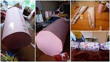 DIY : Cukierek wypełniony cukierkami - świetnym, kreatywnym prezentem np. na urodziny ! ;D Podoba się ?