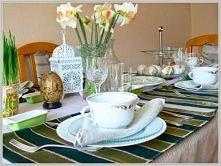 Pisanki i dekoracja stołu n...