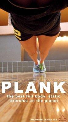 Planki działają na wszystkie mięśnie naszego ciała!