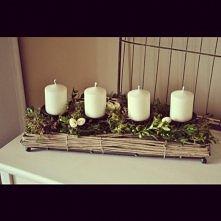dekoracja na święta w moim pokoju ;)