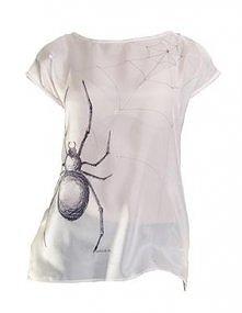 Dziewczyny! Do wygrania unikatowy, ręcznie malowany t-shirt jedwabno - bawełn...