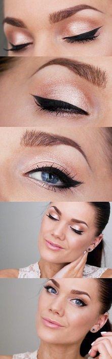 delikatny makijaż na każdą okazje :)