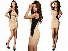 optycznie wyszczuplająca sukienka ;)