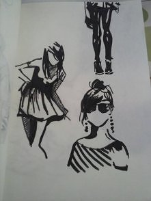 mój szkic markerem  :)