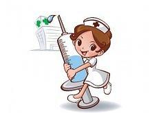 Znalezione obrazy dla zapytania pielęgniarka ze strzykawką rysunek