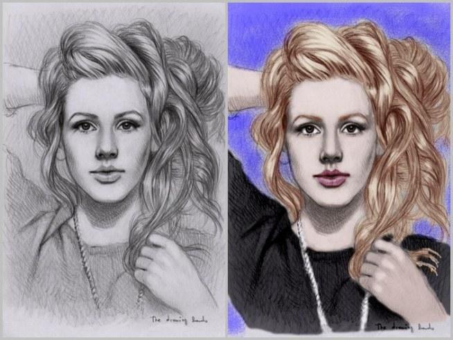Kolorowanie Szkicow W Gimp Ie Efekt Ilustracji Na Moje Prace W