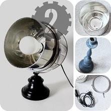 mega lampka z puszki :)