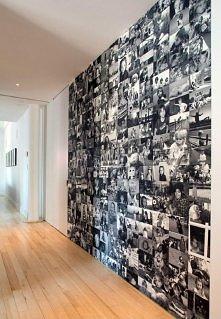 ściana ze zdjęć