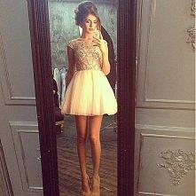 śliczna romantyczna sukienka