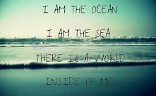 I'm the see.