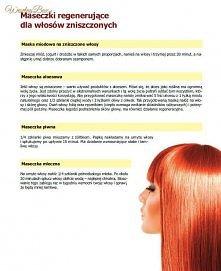 maseczki na włosy :)