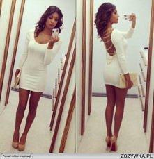 uwielbiam białe sukienki ;p
