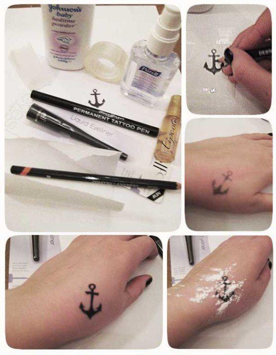 Zrób Sama W Domu Jedyny I Niepowtarzalny Tatuaż Na Tattoo