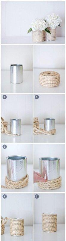 jak zrobić wazonik