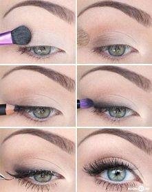 piękne brwi... i lekko podkreślone oko mogą robic równie duże wrażenie co wyrazisty make up.