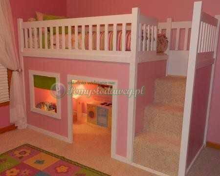 pomysl na pokoj dla dziewczynki :) na pomieszczenia   inspiracje