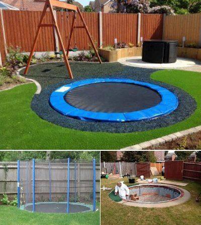 *** bezpieczna trampolina ***