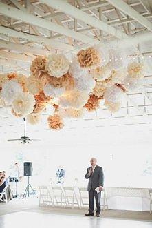 ślubna dekoracja - piękna!
