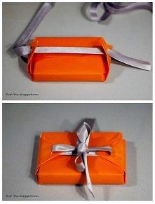 Pomysł na zapakowanie preze...