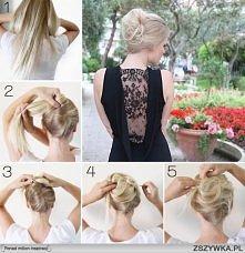 Jak samemu zrobić fryzurę b...