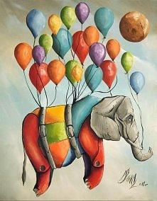 latający słoń :)