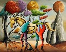 zaplątany koń