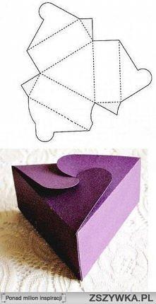 pudełko trójkąt