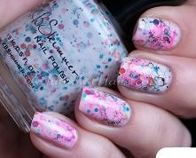 Śliczne paznokcie...
