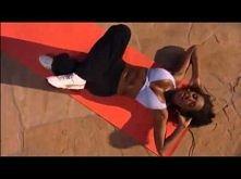 Mel B trening ABS :D 4 pozycja w planie treningowym  :}