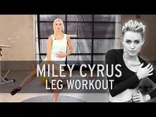 Miley Cyrus Workout: Sexy Legs. Trzeba trochę zaszaleć,to ostatnia pozycja :o Nie zapominając o rozciąganiu  na koniec :D