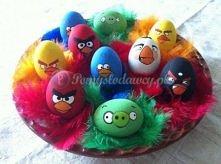 Angry Birds-owe pisanki :)