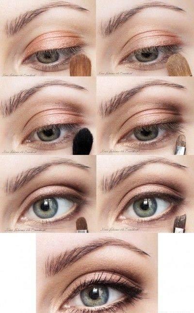Makijaż Idealnie Podkreślający Niebieskie Oczy Na Makijaż