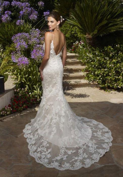 0121153208b suknia ślubna idealna na ceremonię na plaży,dopasowana,lekka i .. na ...