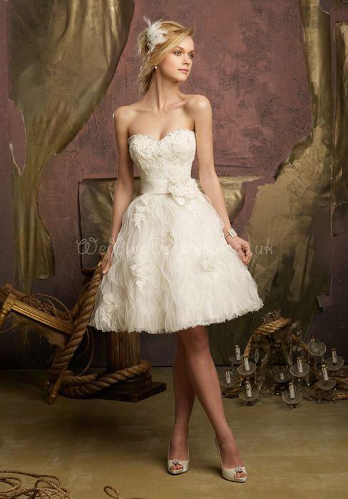 Krótka Suknia ślubna Idealna Na ślub Cywilny Na Suknie ślubne I