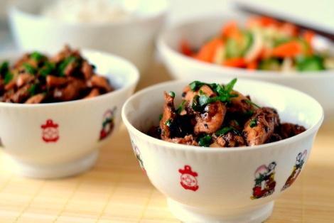 Kurczak W Sosie Z Czarnej Fasoli Przepis Kuchni Chińskiej